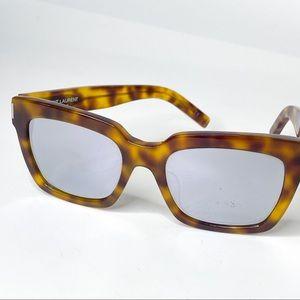 Saint Laurent Bold 1 Mirror Tortoise Sunglasses